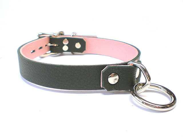black w/pink inlay