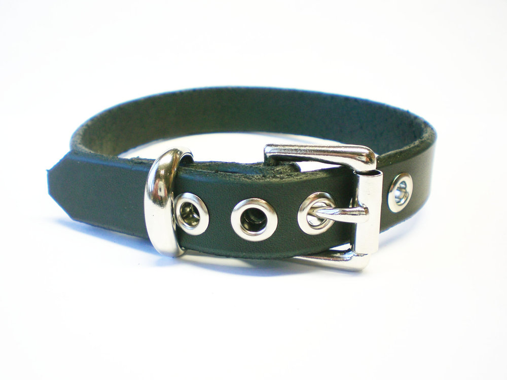 standard buckle - black latigo