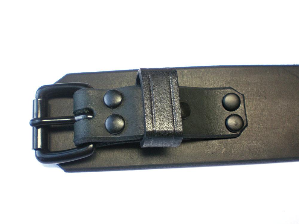 standard buckle - black latigo