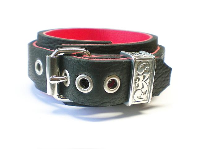 standard buckle - engraved keeper