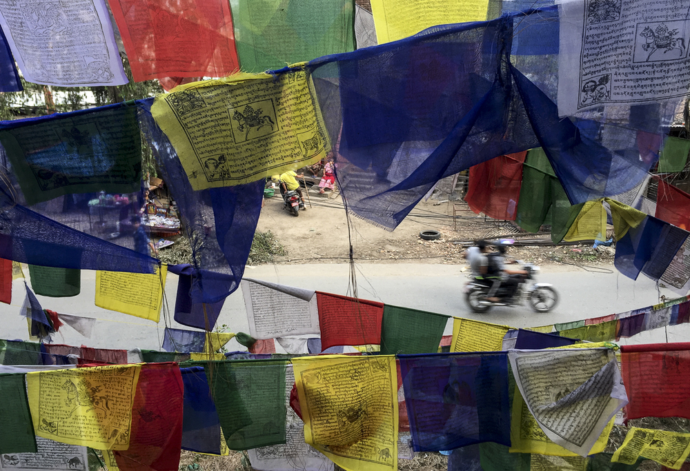Swayambhu Flags | 2015