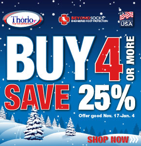 Palmetto Scout Shop has the perfect Stocking Stuffer for your Scouts!!! 25% off Thorlo Socks with the purchase of 4 or more!! Sale going on Now thru Jan 4th.