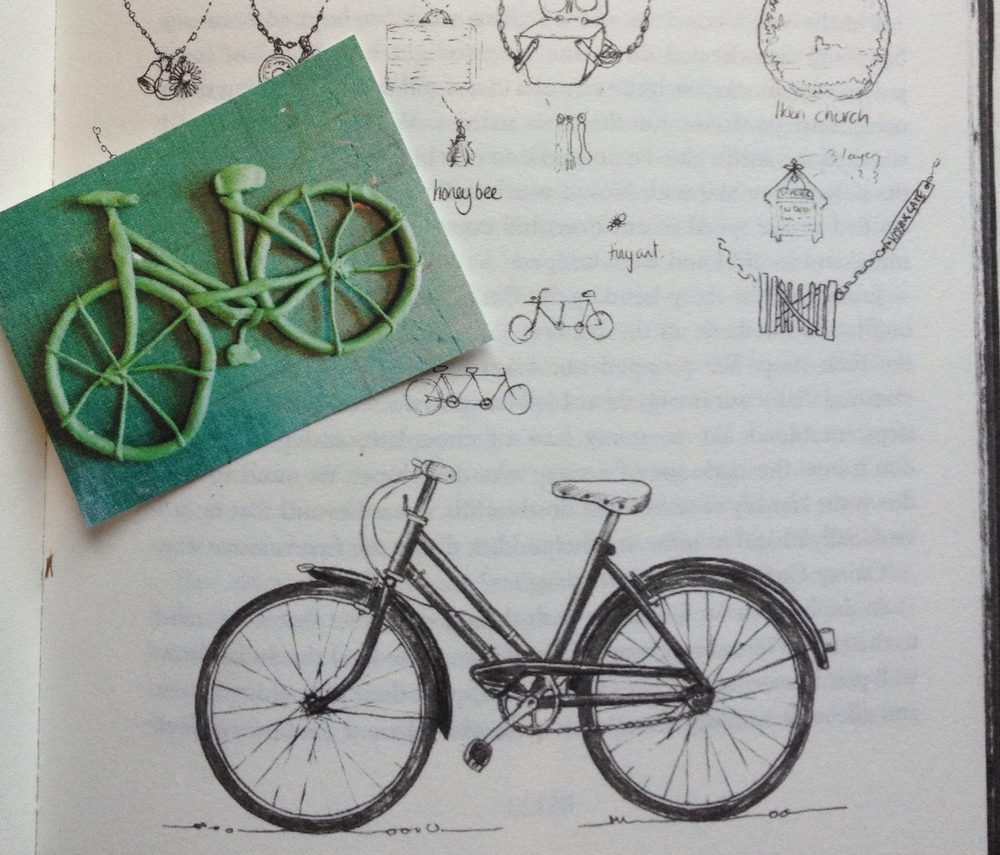 A plasticine bicycle by Master H. Allen