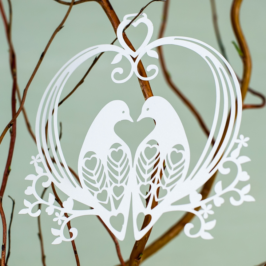 Lovely Doves hanging decoration