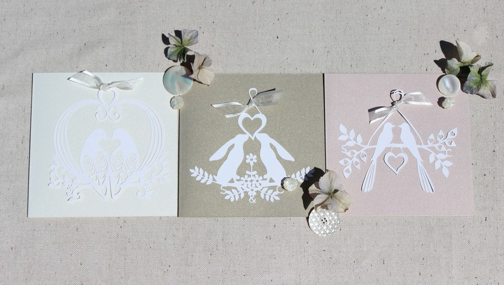 Natural Charms Invitations range