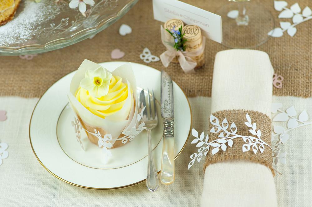 Decoration to match wedding invitations