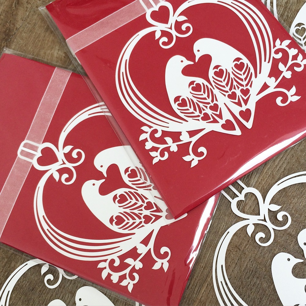 Lovely Doves Bunting