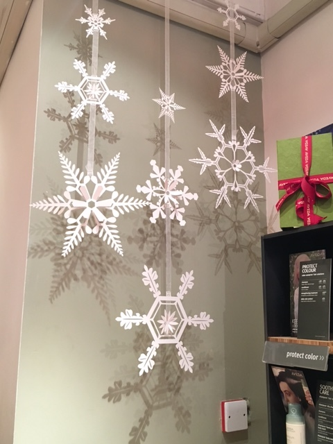 Snowflake garlands