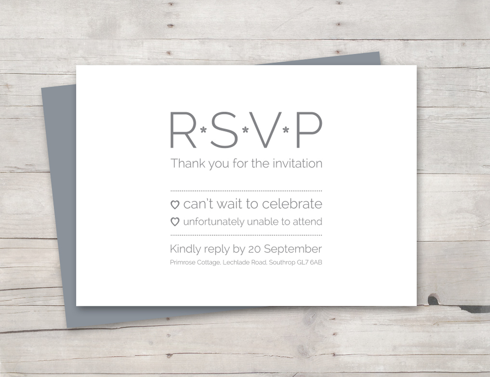 Lovely doves RSVP