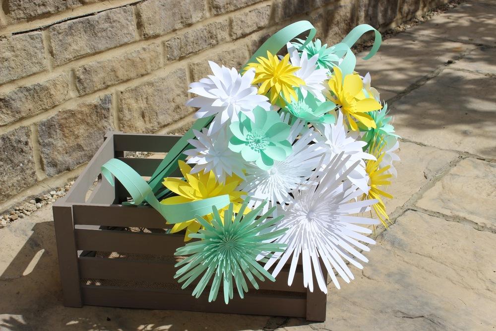 Large Paper Dandelions