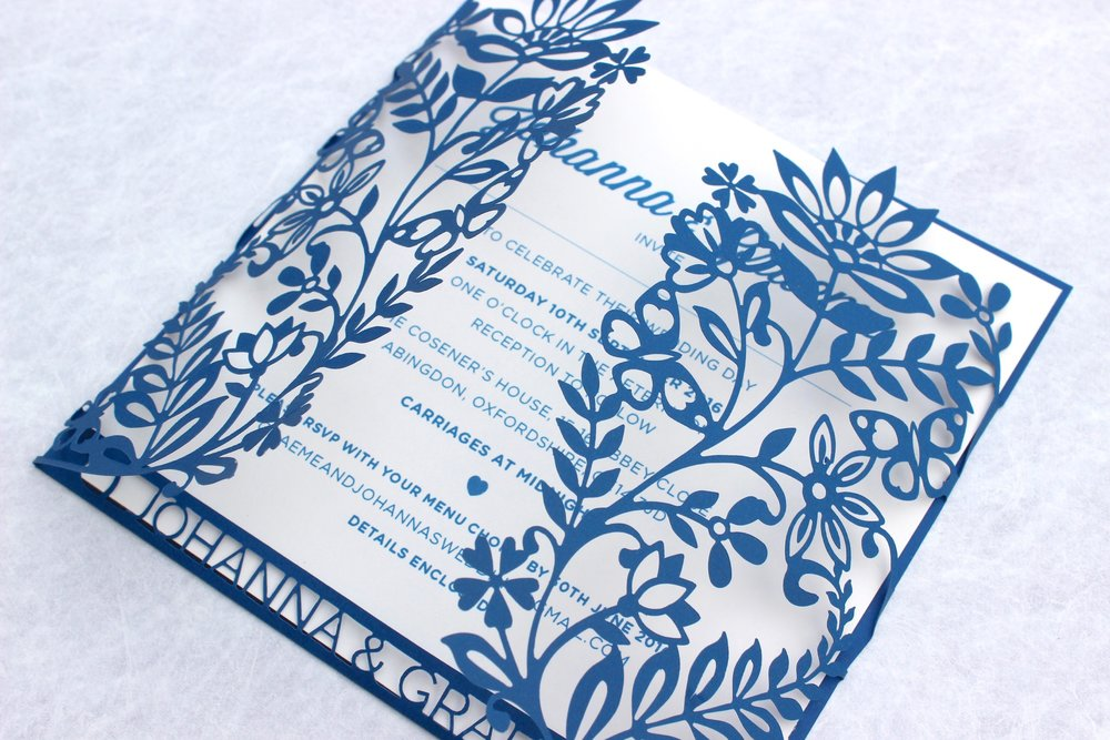 Indian Summer Wedding Invitation