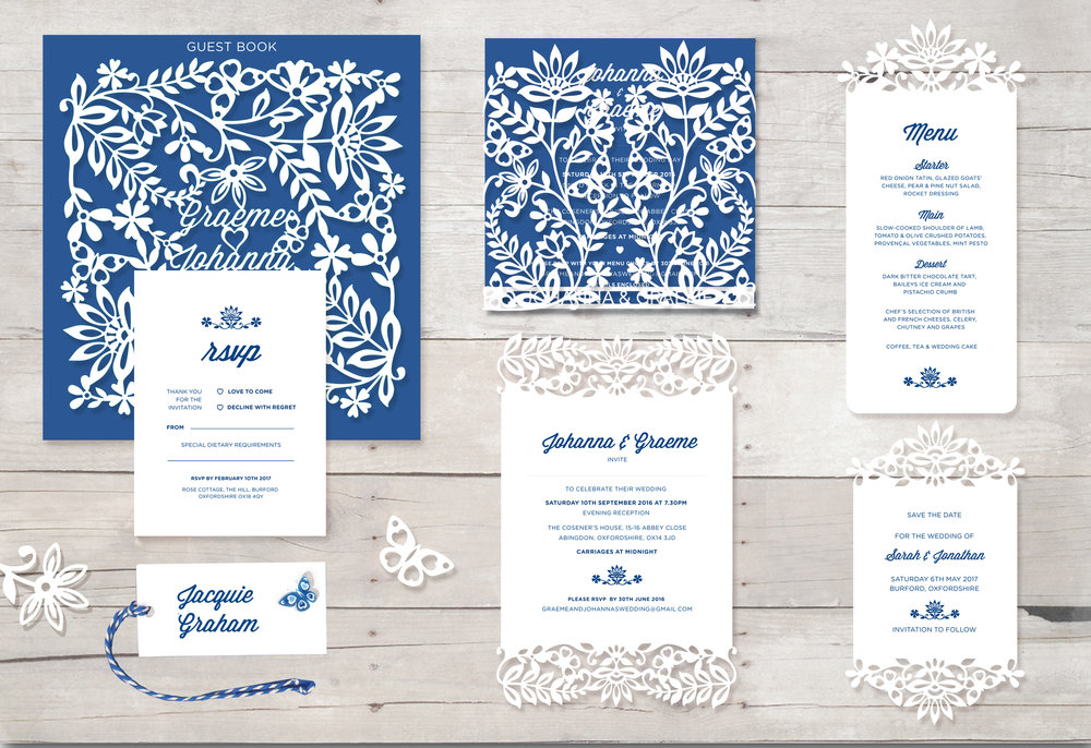 Indian Summer Wedding Stationery
