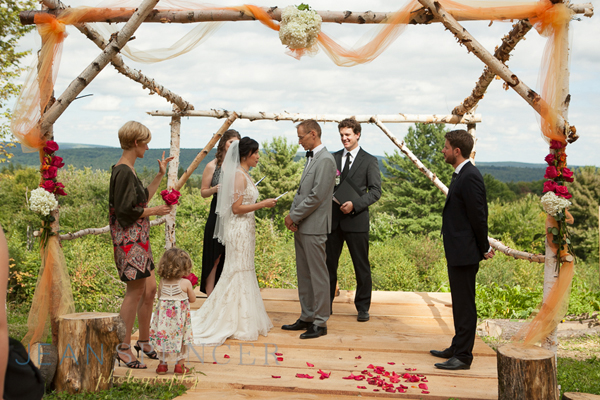 Scenic Wedding in the Berkshires