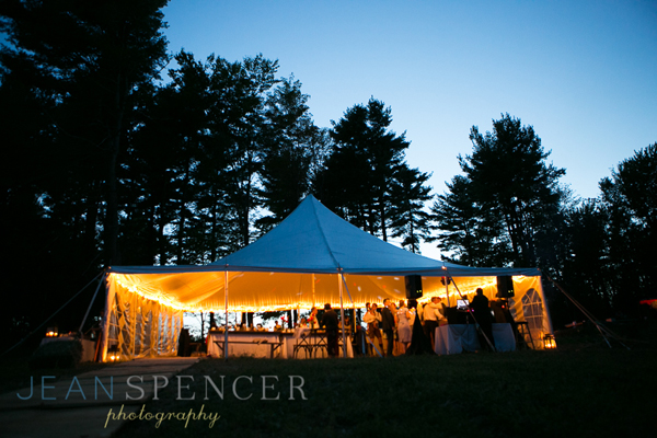 Tented wedding in the Berkshires