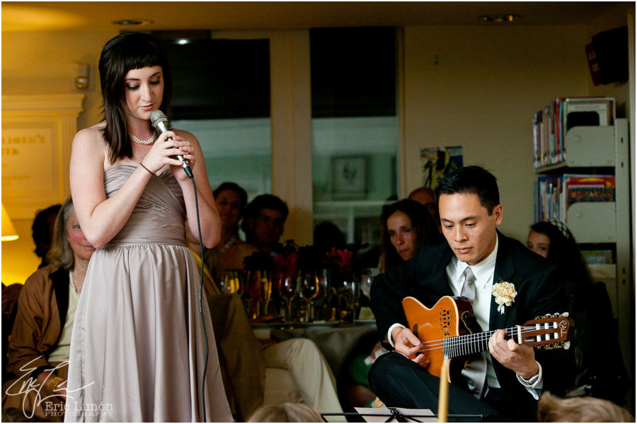 Lenox Library Wedding