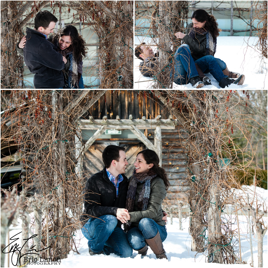 MA Winter Engagement Session