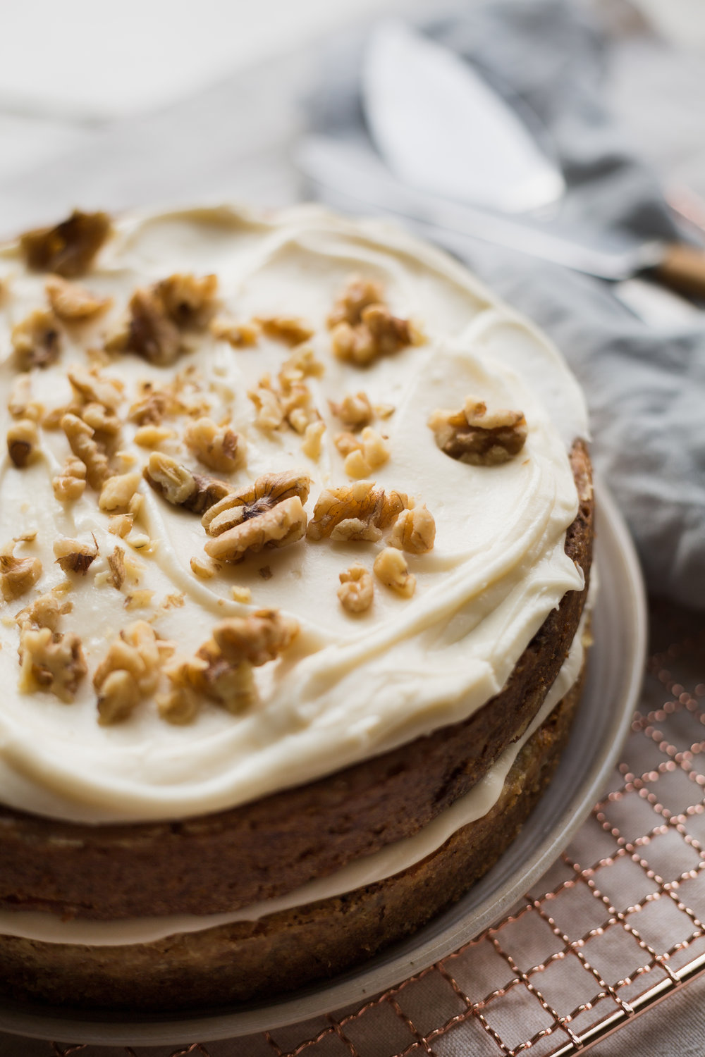 The Most delicious carrot cake you'll ever taste!