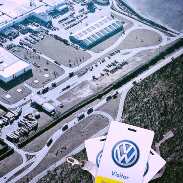 VW Visita a fábrica