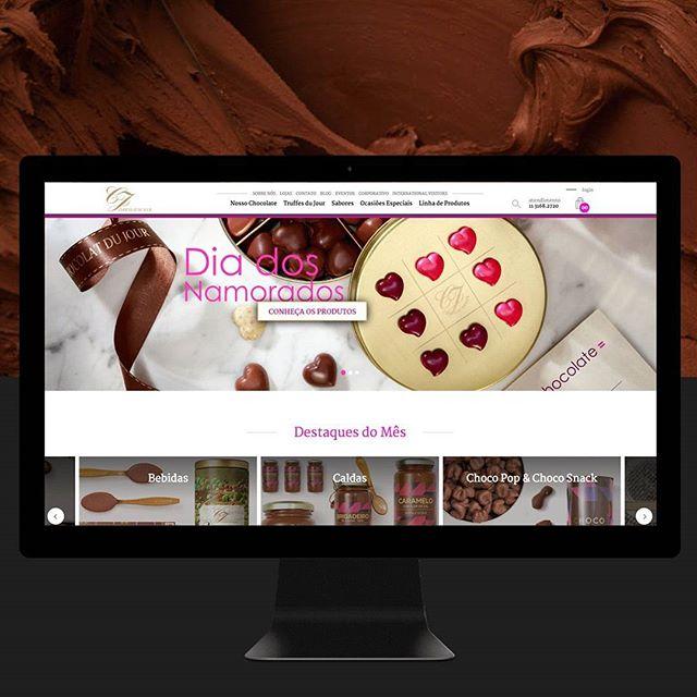countdown para o dia dos namorados na loja online @chocolatdujour  #lojaonline #uxdesign #userexperience #userinterface #webdesign #chocolate