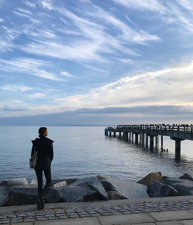 Out of the studio, into the wild 🌊✨#Germany #ostsee
