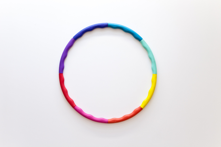 Pleasure Piece #1 2012 Hula hoop 20 inches in diameter