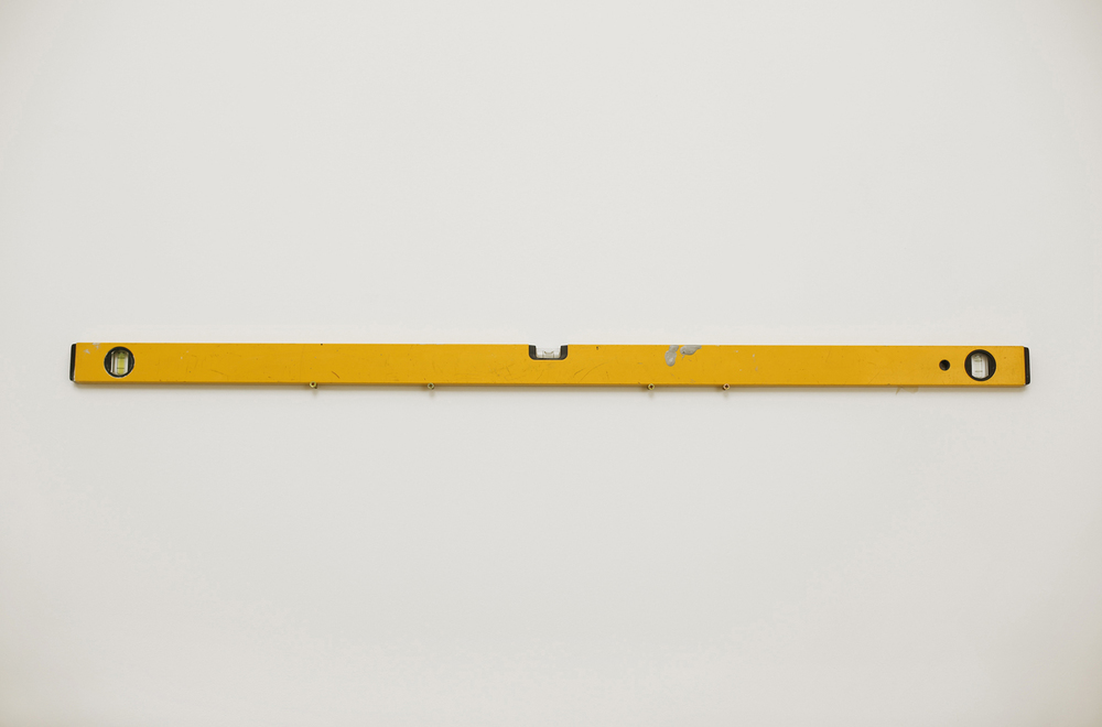 Level (Dylan) 2013 Art handler's spirit level 36 x 3 x 1 inches