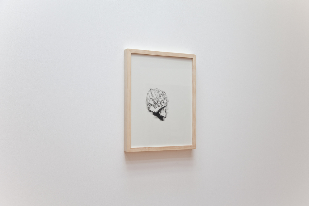 Jack Greer  Little Sculpture  2012 Pencil on paper 20 x 16 inches