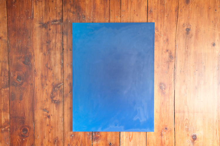 Alex Perweiler It's All for the Taking 2012 Buffed c-print mounted to aluminum panel 40 x 30 inches