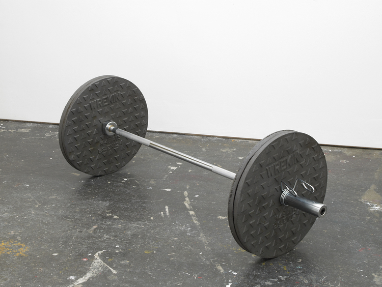 Wreckin' Cru 2012 Cast iron manhole covers, stainless steel bar and metal fittings 19.5 x 19.5 x 60 inches