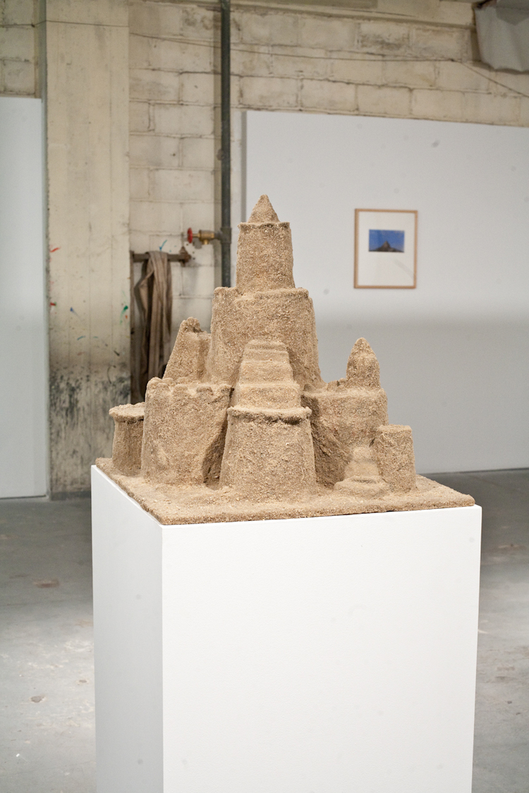 Jack Greer Sand Castle 2011 Plastic, resin and sand 25 x 22 x 63 inches