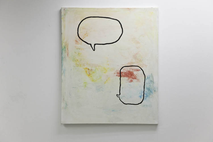 Lucien Smith Untitled 2010 Acrylic and moulding paste on canvas 30 x 36 inches