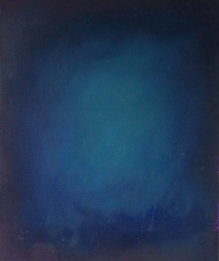 Louis Eisner Blue 2010 Oil on canvas 20 x 24 inches