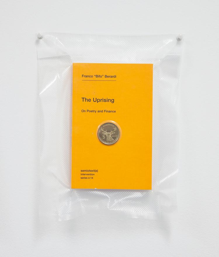 Brad Troemel TSA No Fly List Vacuum Sealed Bifo - 'The Uprising' with Fairfax, California $20 Buck time/labor barter coin, 2013 10 x 8 inches