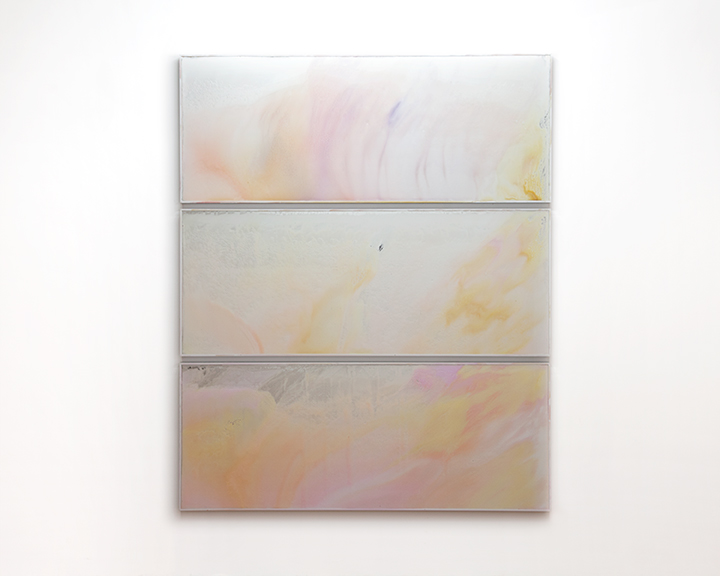 Loveless  2012 Shampoo on mirror 90 x 77 inches