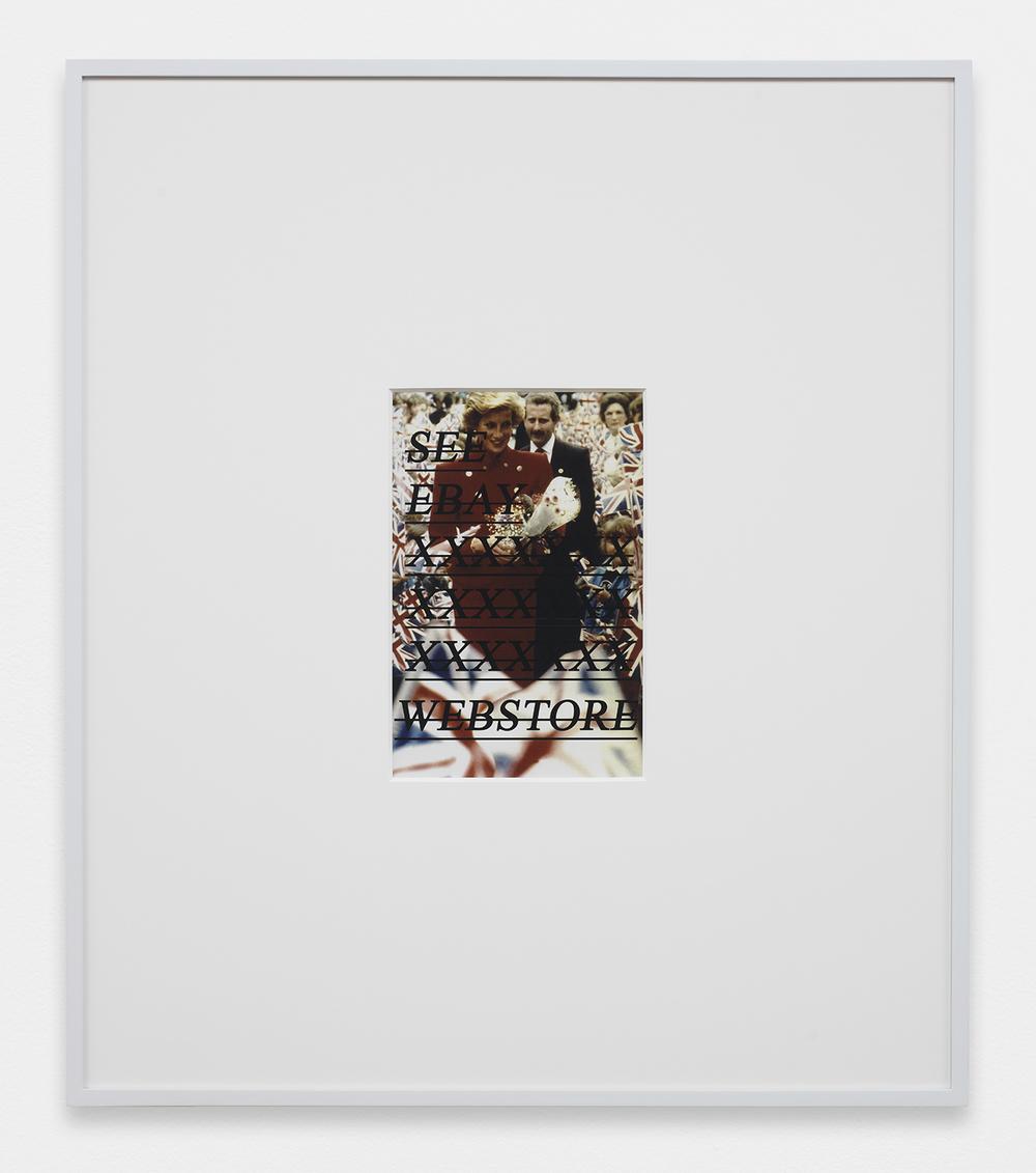 LOUIS EISNER See Ebay XXXXXXX XXXXXXX XXXXXXX Webstore, 2013 Inkjet print in unique artist frame 29.5 x 25.5 inches