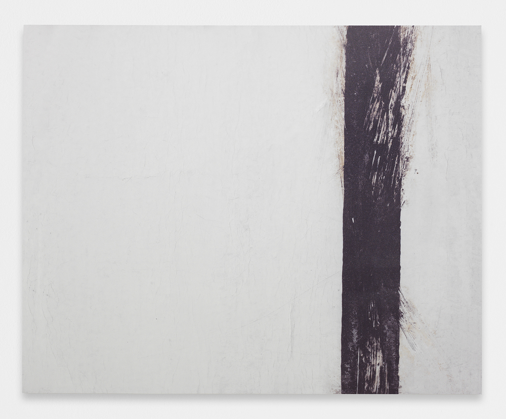 ALEX PERWEILER  Return & Contract  , 2013   UV curable ink, paint on aluminum panel   48 x 60 inches