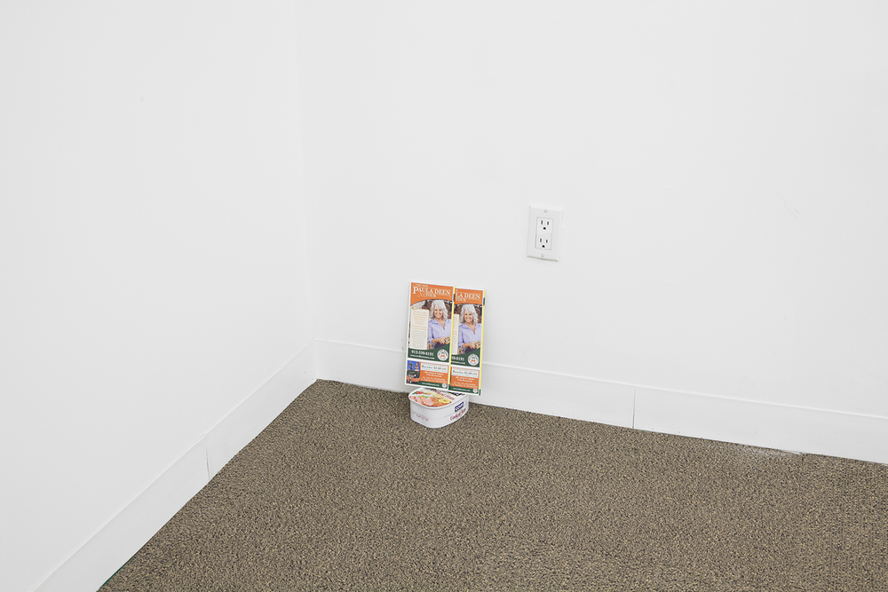ALEX ITO  Triumph of the Will  , 2013   Brochures and canned ham   11 x 6 x 8 inches