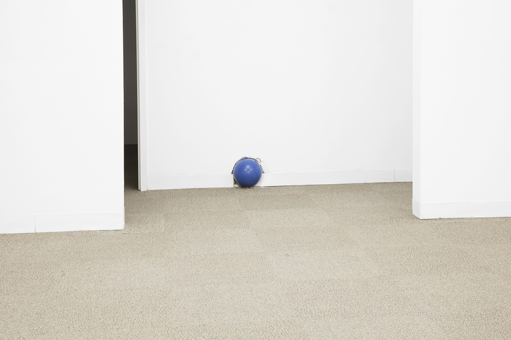 DYLAN LYNCH  Erny McCracken  , 2013   Bowling ball   Dimensions variable