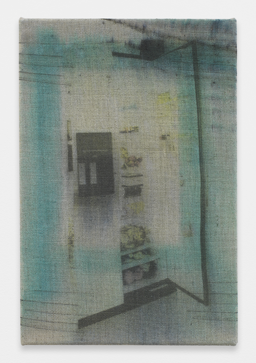 AUGUSTUS THOMPSON  IKEA090 (FridgeCrop)  , 2013   Inkjet on linen   12 x 8 inches