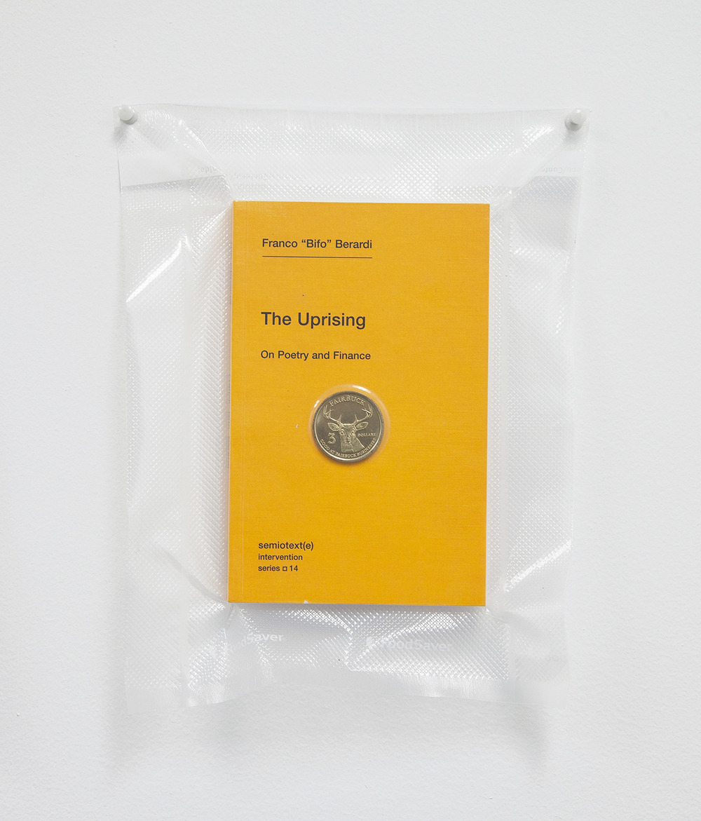 TSA No Fly List Vacuum Sealed Bifo - 'The Uprising' with Fairfax, California $20 Buck time/labor barter coin  , 2013    10 x 8 inches