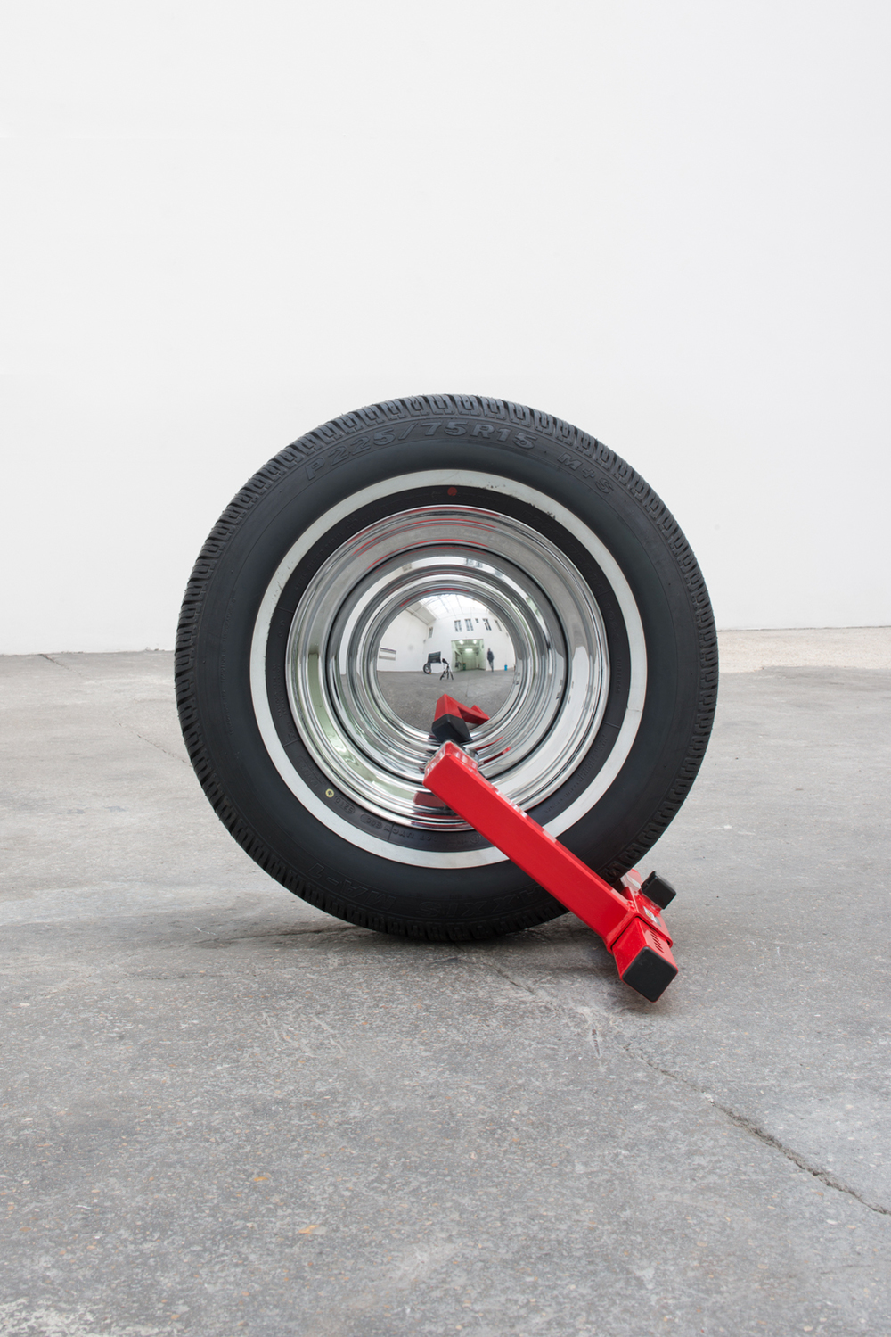 Manny, Moe and Jack (Jack), 2014 Rubber, steel Dimensions variable