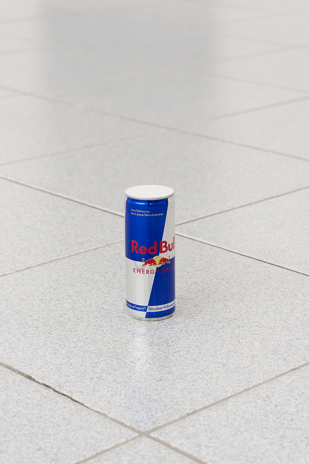 Nick Darmstaedter RedBull Without A Cause, 2014 RedBull and plaster 7.5 x 2.5 x 2.5 inches