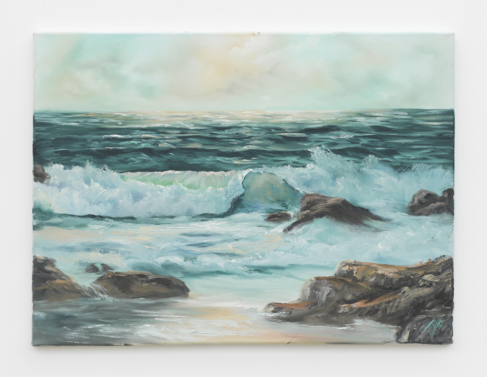 Elen Tye  Turning Tides , Year to be determined Oil on canvas 18 x 24 inches
