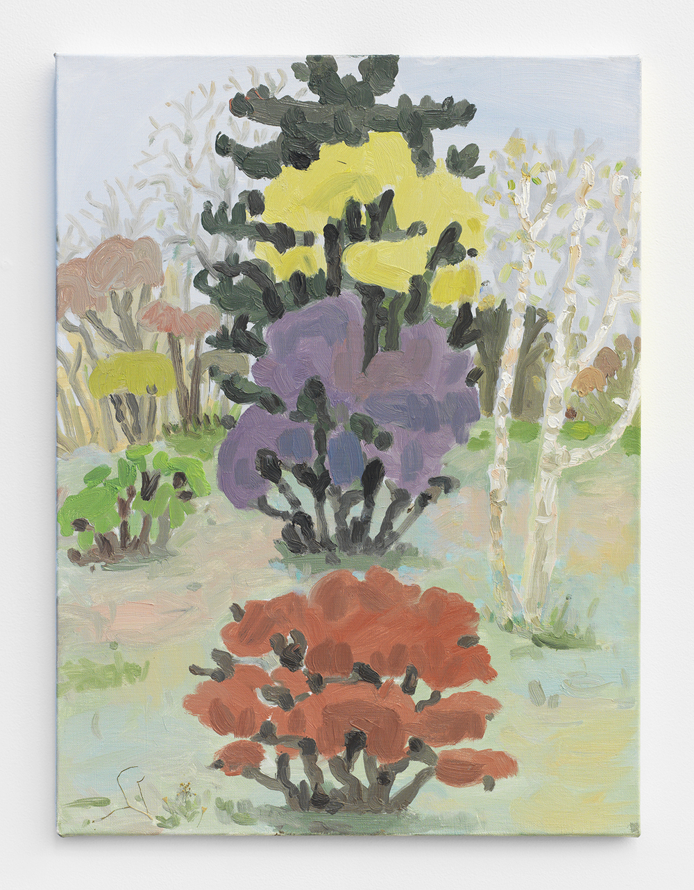 Daniel Heidkamp Slayer Of Delusion, 2014 Oil on canvas  24 x 18 inches