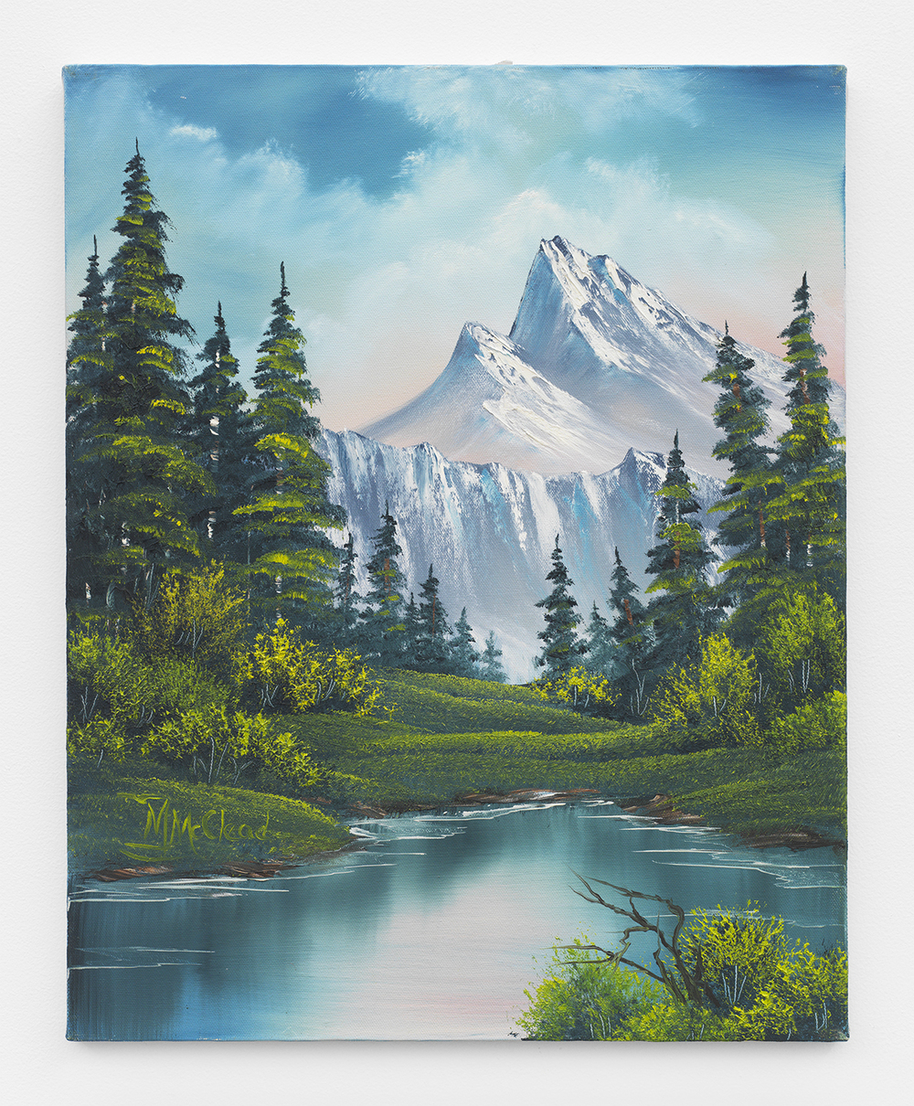 Bernie Oropallo Wilderness Falls, 2014 Oil on canvas 24 x 18 inches