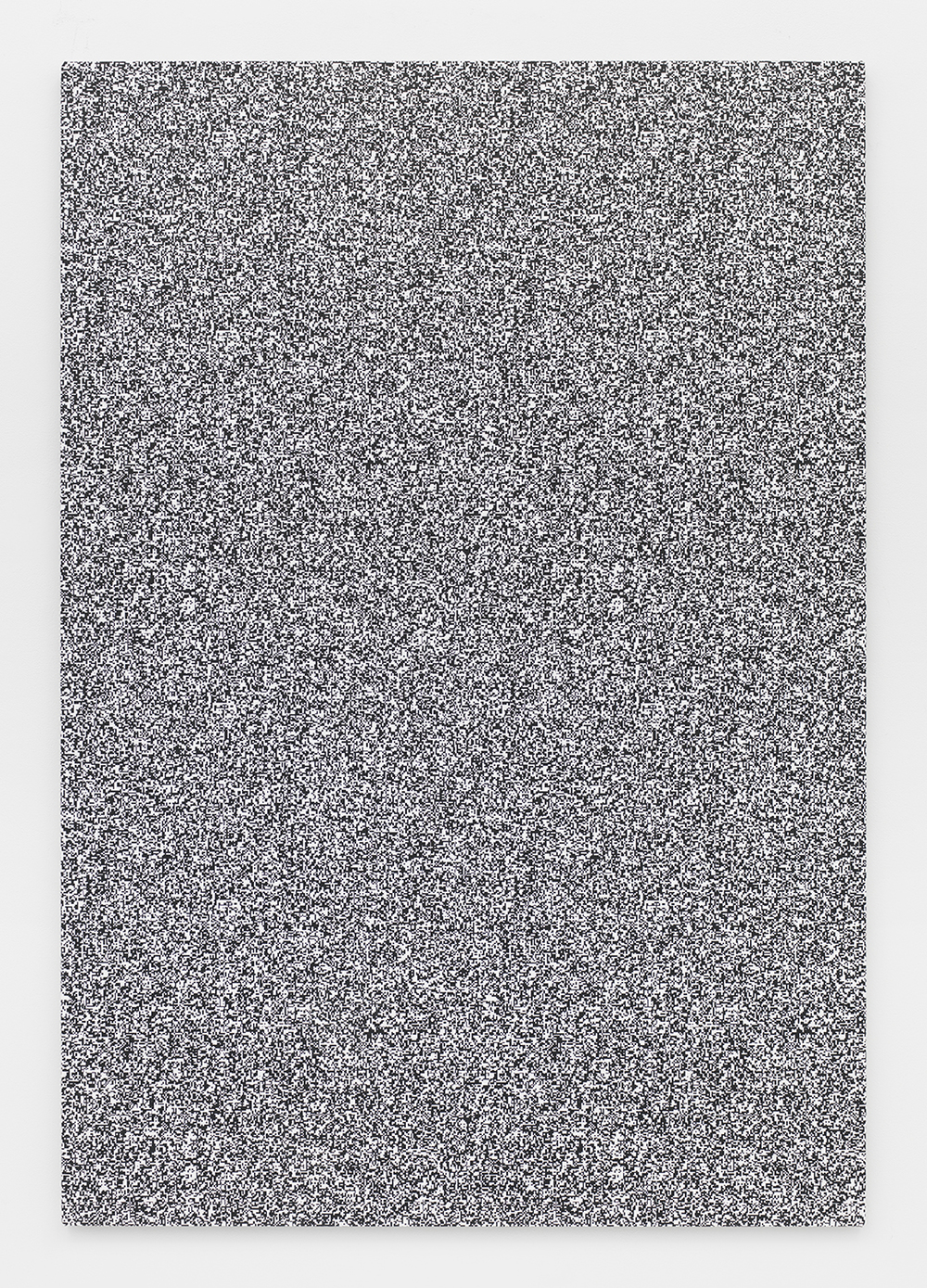 Haley Mellin  Untitled 097 , 2014 Ink, oil and gesso on canvas 64 x 44 inches