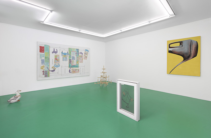 Installation view from  Current Condition  at Room East