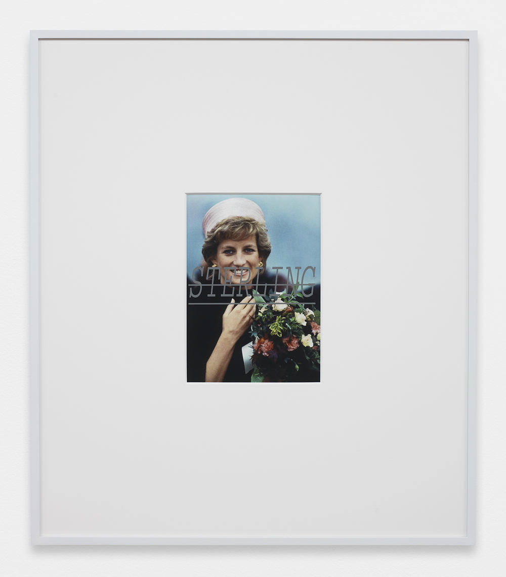 Louis Eisner Sterling, 2013 Inkjet print in unique artist frame 29.5 x 25.5 inches