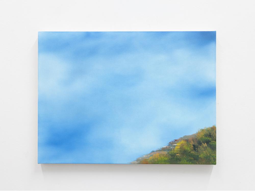 Amps, Drugs, Harmonium, 2015 Oil on canvas 18 x 24 inches