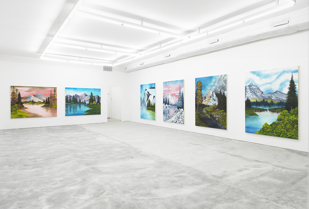 Installation view from   Mountains Collection   @ HOWARD ST